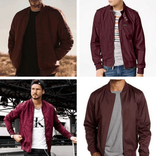 Burgundy Jacket for Men Burgundy Jacket for Men classy casual outfits for guys mens fashion casual