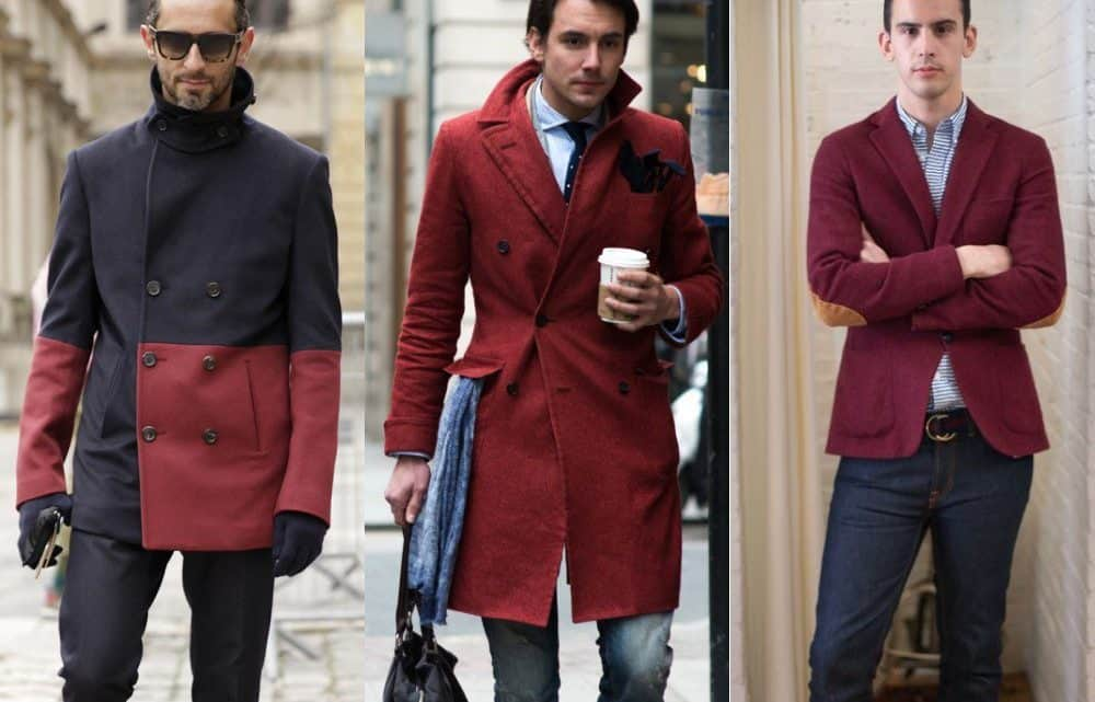 60+ Incredible Men's Casual Outfit Ideas In Burgundy Maroon Color To WOW Year 2021