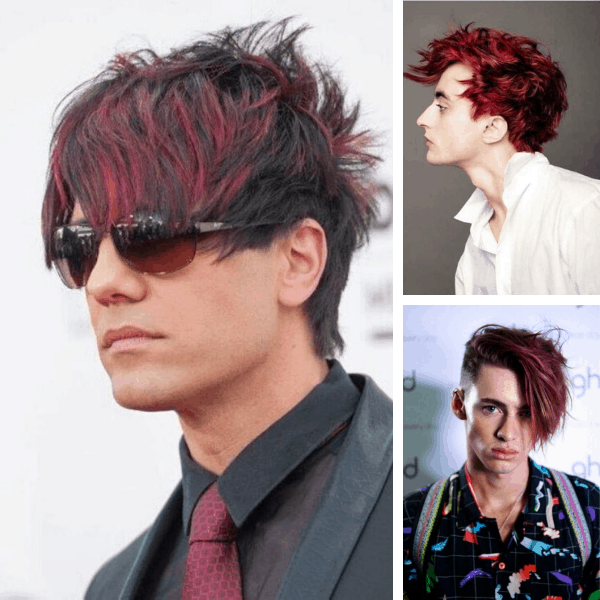 47+ Men's Hair Dye Colors That Can Brighten Your Day (2021)