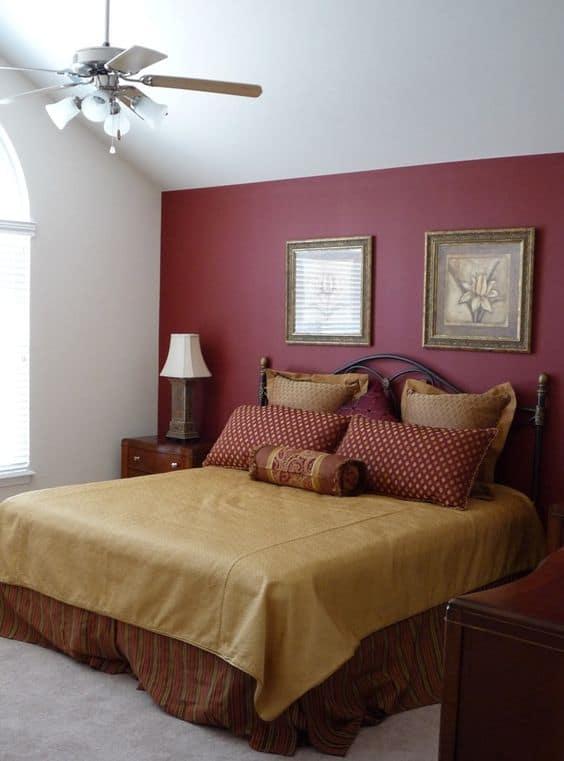Burgundy Bedroom Ideas Sexy Romantic Wall Decor Paint More