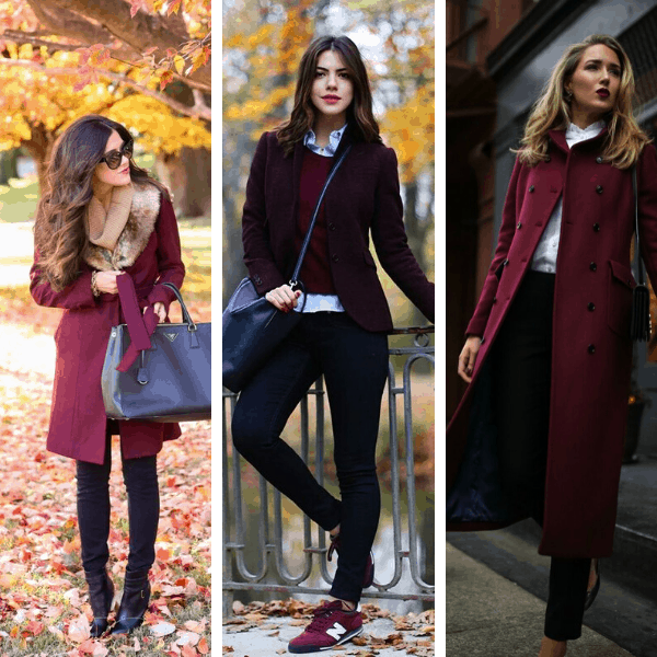 47+ Stylish Burgundy Pieces Of Autumn Clothing You Must Check Out (Fall Outfits For Women 2020)