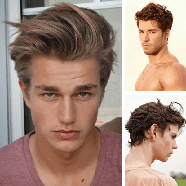 mens hair color trends burgundy hair mens hair color trends platinum hair mens style boys hair colour style