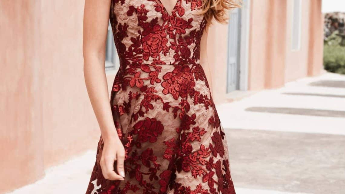 123+ Beautiful Yet Affordable Amazon Burgundy Dress Outfits To Wear To A Wedding As A Guest For Ladies (2021)