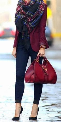 """lady women burgundy red/dark red how to dress like a celebrity how to look pretty smart casual womens outfits casual outfits womens"""