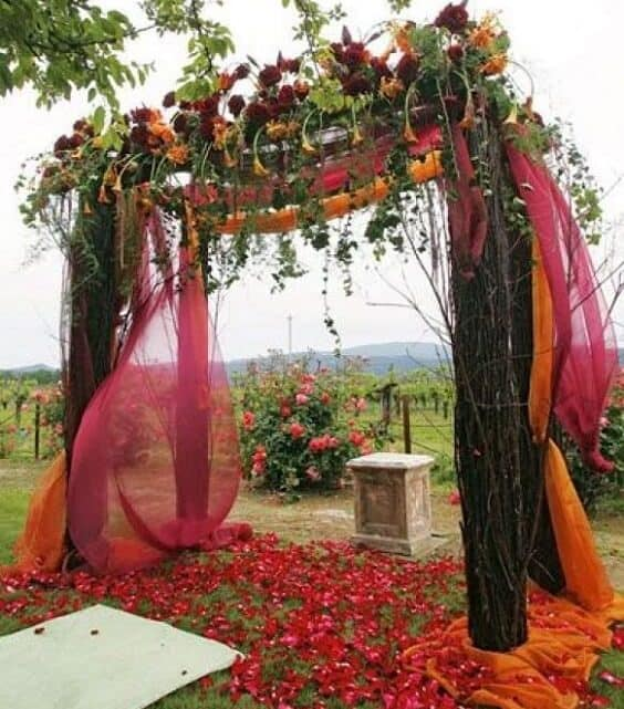 Best Color Combos With Orange: 27+ Burnt Orange And Burgundy Wedding Theme For 2021