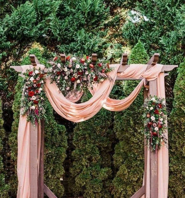 55+ Dusty Pink And Burgundy Wedding Theme Ideas Popular For 2021