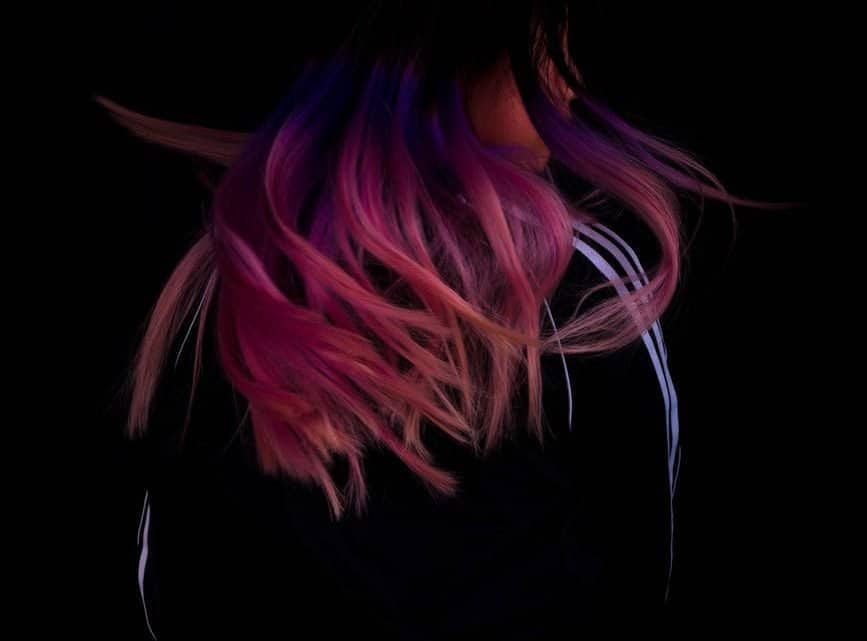 17+ Maroon Tips Hair: Burgundy Highlights Hairstyles On Long & Short Black Hair
