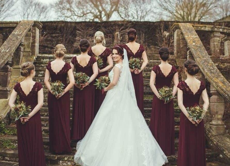 Maid Of Honor And  The Best Man Duties That You Must Know For Organizing A Unique Burgundy Wedding Ceremony (2021)