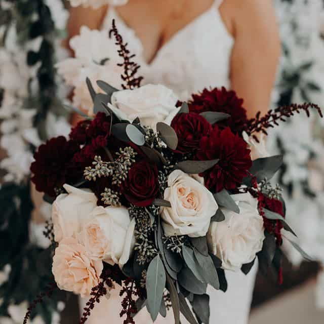An Amazing Guide To Choose The Best And Unique  Burgundy Wedding Bouquet Ideas For Your Very  Special Day (2021)