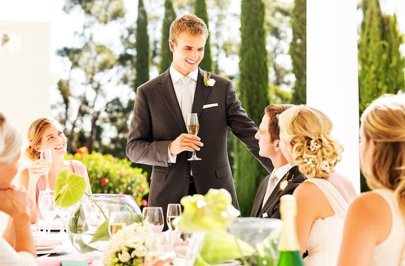 These Ideas Will Definitely Help You In Giving The Best Man Speech Introduction For A Perfect Burgundy Marriage Ceremony (2021)