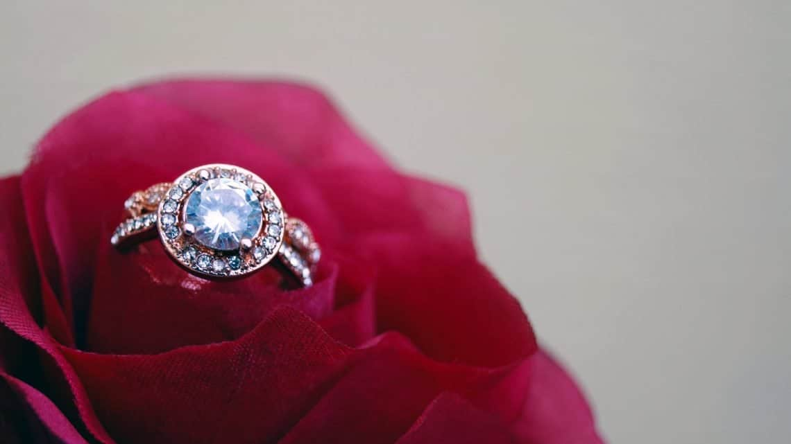 Check Out These Burgundy Diamond Ring Designs : What Kind Of Engagement Rings Suits Your Personality? (2021)