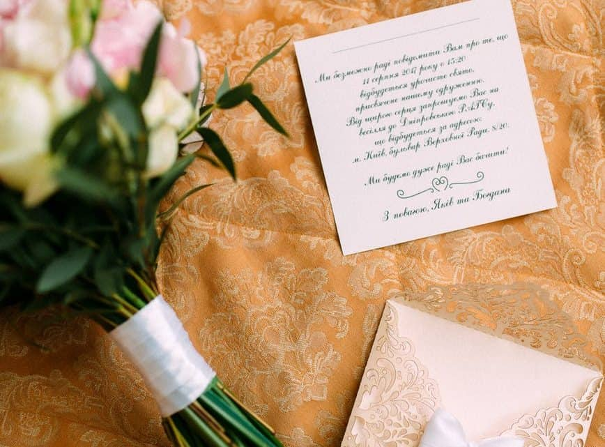 An Ultimate Comprehensive Guide To Write The Perfect Wedding Invitations For Your Most Important Ceremony (2021)