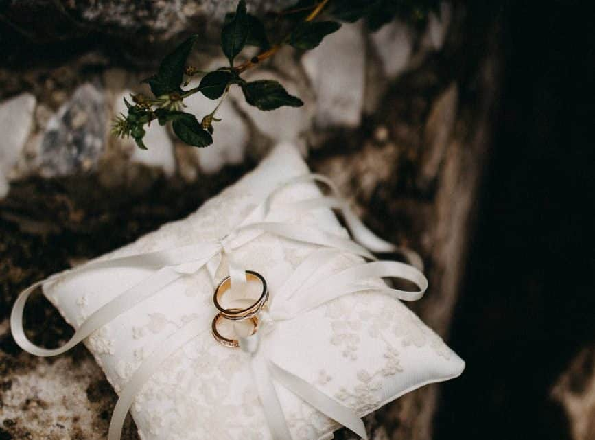 Make Your Marriage Ceremony Unforgettable  By These Matching Burgundy Wedding Bands For His And Her (2021)