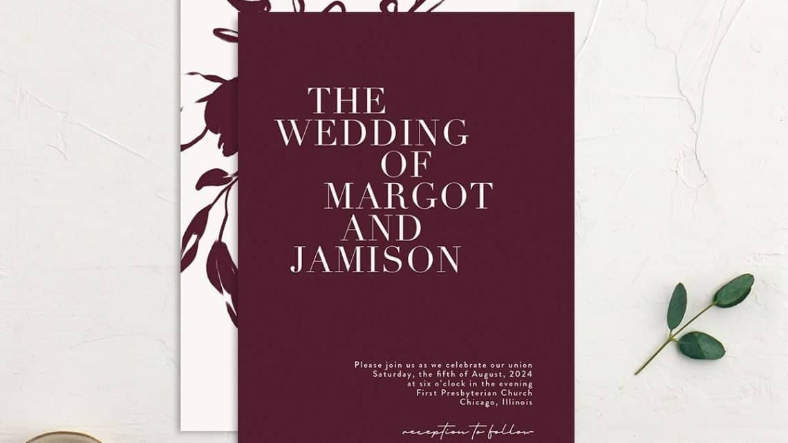 Reference For Event Management Guide : Outstanding Burgundy Wedding Etiquettes Books Of All Time For Your Special Day (2021)